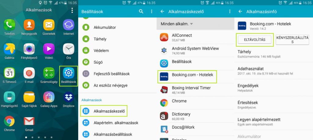Háttérben futó alkalmazások leállítása android telefonokon