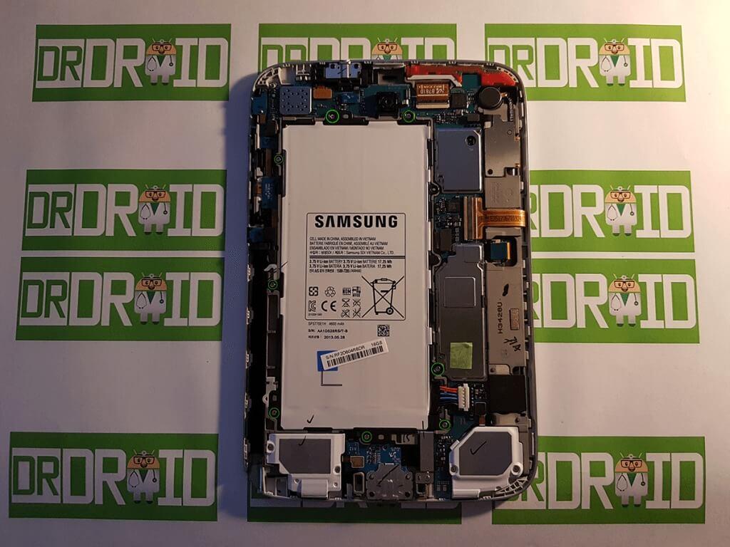 Galaxy Note 8.0 akkumulátor kiszerelése