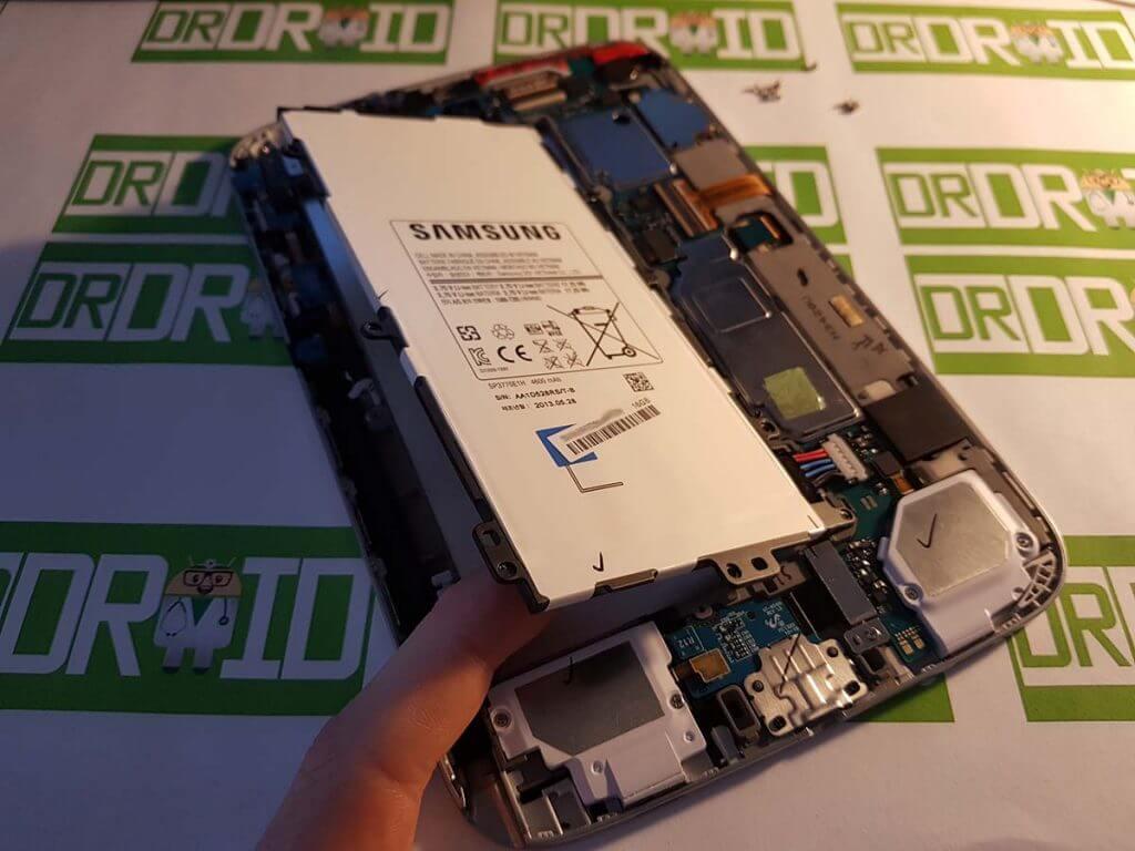 Samsung Galaxy Note 8.0 akkumulátor kiemelése