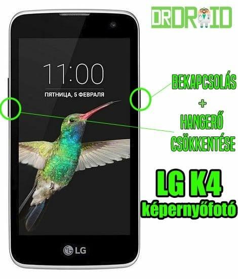 LG K4 képernyőfotó