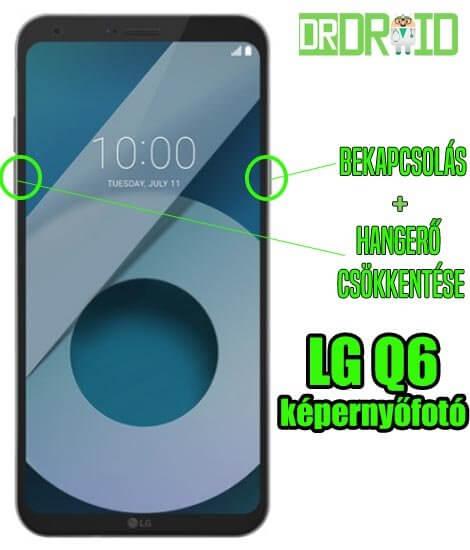 LG Q6 képernyőfotó