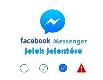 Facebook messenger jelek jelentése
