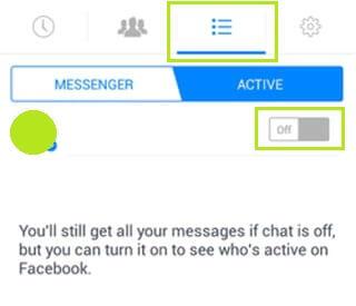 Messenger láthatóság kikapcsolása iPhone telefonokon