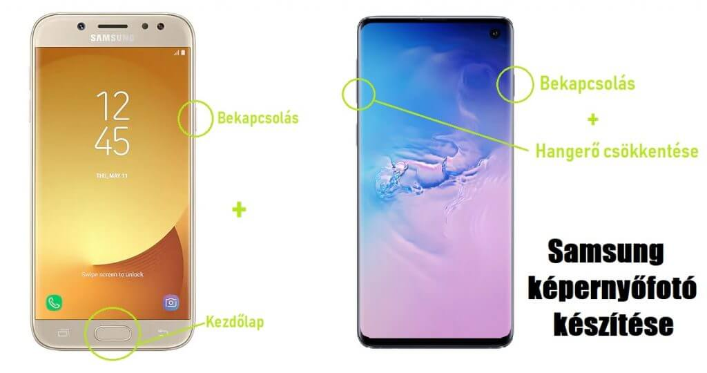 Samsung képernyőfotó