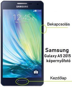 Samsung A5 képernyőfotó